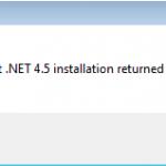 MicrosoftNETFrameworkFailed5100