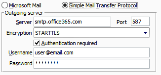 Office365SMTPEmail