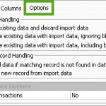 Options for Imports