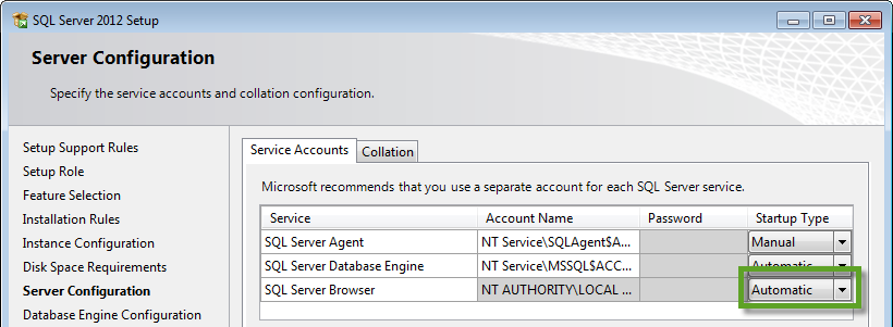 ServerConfiguration