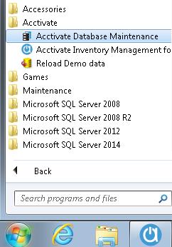 database maint
