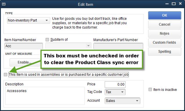 item list box