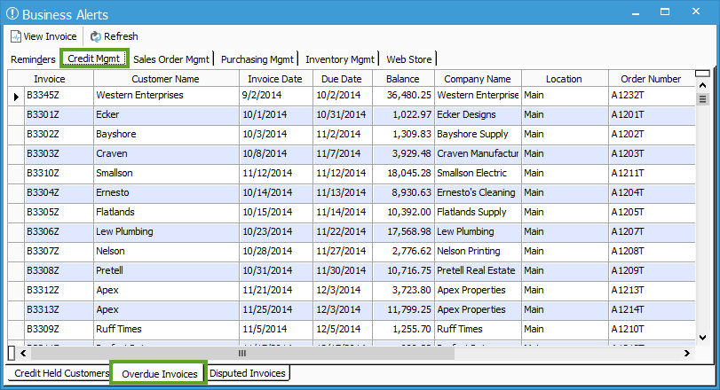 overdue invoices 1 acctivate help With how to keep track of invoices