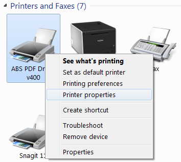printer settings 2