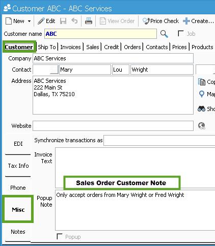 sales order 8