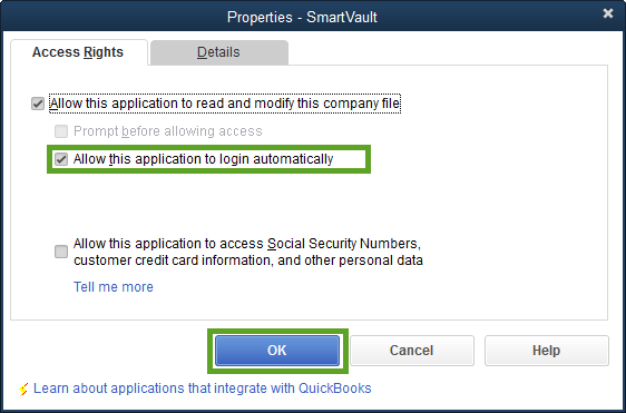 smartvault login automatically
